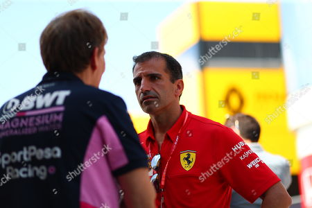 Marc Gene, Ferrari ambassador Hungarian GP F1 2019