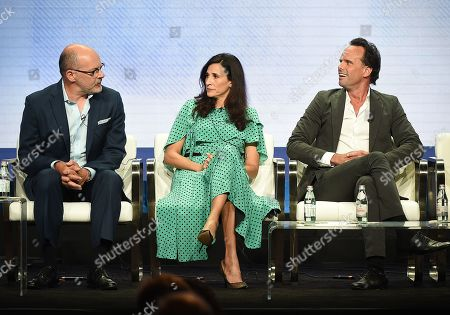 Walton Goggins, Rob Corddry and Michaela Watkins