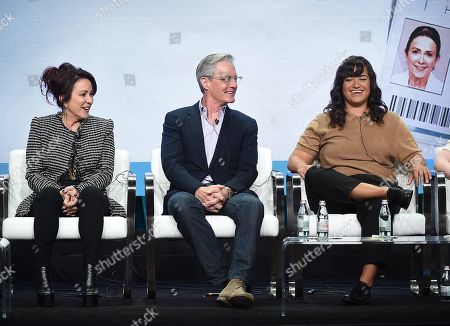 Editorial picture of CBS 'Carol's Second Act' TV Show panel, TCA Summer Press Tour, Los Angeles, USA - 01 Aug 2019