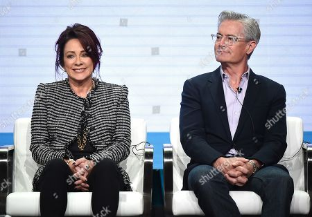 Stock Image of Patricia Heaton and Kyle Maclachlan