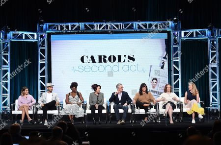 Editorial photo of CBS 'Carol's Second Act' TV Show panel, TCA Summer Press Tour, Los Angeles, USA - 01 Aug 2019