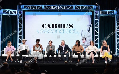 Editorial image of CBS 'Carol's Second Act' TV Show panel, TCA Summer Press Tour, Los Angeles, USA - 01 Aug 2019