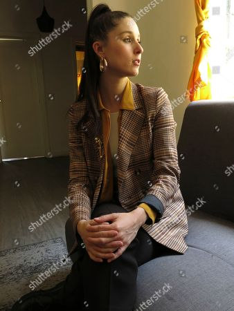 """Chilean singer Francisca Valenzuela poses for a portrait in Mexico City. Valenzuela dedicates her latest song """"Heroe"""" to inner strength and self esteem"""