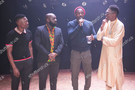 Gregory Maqoma (Choreographer), Michael Asante (Composer), Idris Elba (Author) and Kwame Kwei-Armah (Author/Director)