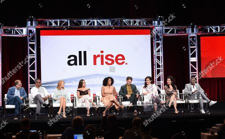 Editorial image of CBS 'All Rise' TV Show panel, TCA Summer Press Tour, Los Angeles, USA - 01 Aug 2019