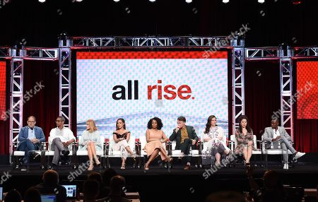 Editorial picture of CBS 'All Rise' TV Show panel, TCA Summer Press Tour, Los Angeles, USA - 01 Aug 2019