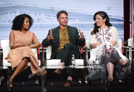 Editorial photo of CBS 'All Rise' TV Show panel, TCA Summer Press Tour, Los Angeles, USA - 01 Aug 2019