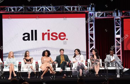 Marg Helgenberger, Jessica Camacho, Simone Missick, Wilson Bethel, Lindsay Mendez, Ruthie Ann Miles and J. Alex Brinson
