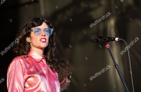 Editorial image of Natalie Prass in concert at Echo Beach, Toronto, Canada - 31 Jul 2019
