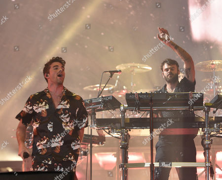 Stock Photo of The Chainsmokers - Alex Pall and Andrew Taggart