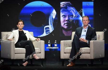 Stock Image of Marc DeBevoise, Julie McNamara