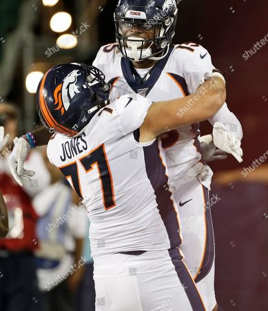 Editorial picture of Hall of Fame Game Falcons Broncos Football, Canton, USA - 01 Aug 2019