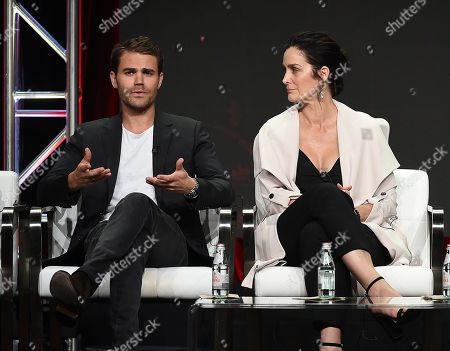 Paul Wesley, Carrie-Anne Moss