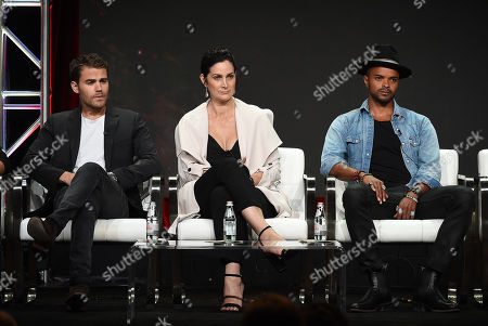 Paul Wesley, Carrie-Anne Moss, Eka Darville