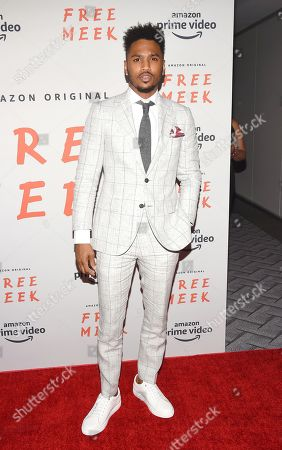 Editorial image of 'Free Meek' TV show premiere, Arrivals, Ziegfeld Ballroom, New York, USA - 01 Aug 2019