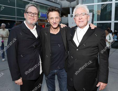 Albert Berger, John Hawkes and Ron Yerxa