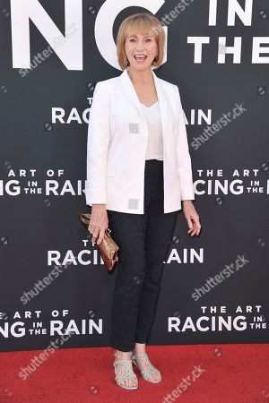 "Kathy Baker attends the LA premiere of ""The Art of Racing in the Rain"" at the El Capitan Theatre, in Los Angeles"