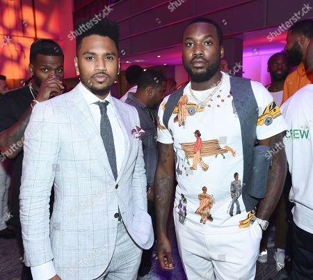 Trey Songz and Meek Mill