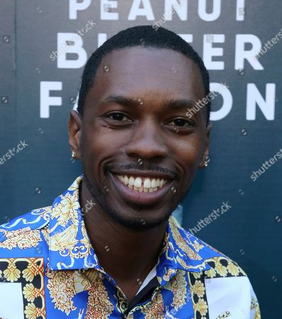"""Melvin Jackson Jr. attends the LA Special Screening of """"The Peanut Butter Falcon"""" at The ArcLight Hollywood, in Los Angeles"""