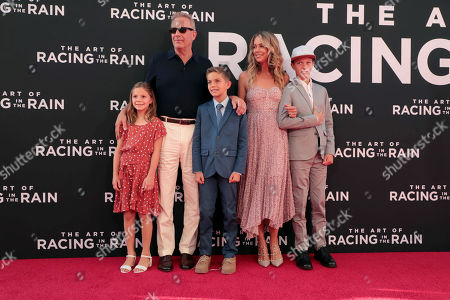 Editorial photo of Twentieth Century Fox 'The Art of Racing in the Rain' film Premiere at El Capitan Theatre, Los Angeles, USA - 01 Aug 2019