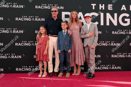 Editorial picture of Twentieth Century Fox 'The Art of Racing in the Rain' film Premiere at El Capitan Theatre, Los Angeles, USA - 01 Aug 2019