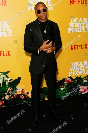 Editorial picture of 'Dear White People' TV show, season 3 premiere, Los Angeles, USA - 01 Aug 2019