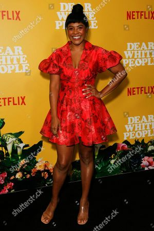 Editorial image of 'Dear White People' TV show, season 3 premiere, Los Angeles, USA - 01 Aug 2019