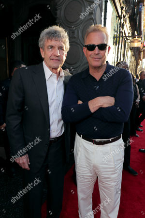 Alan Horn, Co-Chairman and Chief Creative Officer of The Walt Disney Studios, Kevin Costner