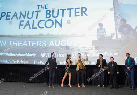 Editorial picture of 'The Peanut Butter Falcon' Film Screening, Inside, ArcLight Cinemas, Los Angeles, USA - 01 Aug 2019