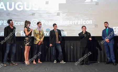Editorial photo of 'The Peanut Butter Falcon' Film Screening, Inside, ArcLight Cinemas, Los Angeles, USA - 01 Aug 2019