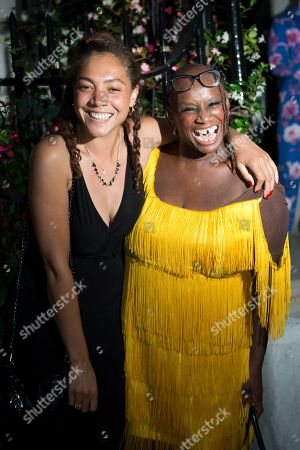 Stock Picture of Miquita Oliver and Andi Oliver