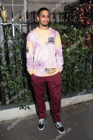 Editorial image of Mabel album launch party, Arrivals, Annabel's, London, UK - 01 Aug 2019