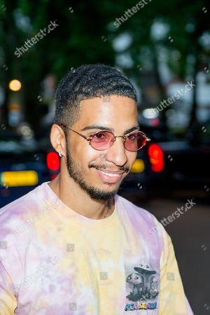 Editorial photo of Mabel album launch party, Arrivals, Annabel's, London, UK - 01 Aug 2019