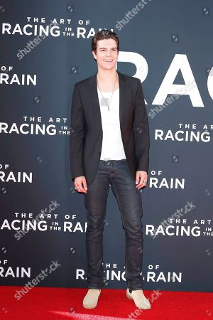 Stock Image of Braeden Wright arrives for the premiere of The Art of Racing in the Rain at the El Capitan Theatre in Hollywood, Los Angeles, California, USA 01 August 2019. The movie opens in the US 09 August 2019.