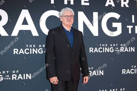 Simon Curtis arrives for the premiere of The Art of Racing in the Rain at the El Capitan Theatre in Hollywood, Los Angeles, California, USA, 01 August 2019. The movie opens in US cinemas on 09 August 2019.