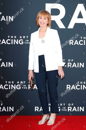 Kathy Baker arrives for the premiere of The Art of Racing in the Rain at the El Capitan Theatre in Hollywood, Los Angeles, California, USA, 01 August 2019. The movie opens in US cinemas on 09 August 2019.