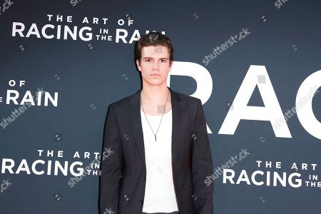 Braeden Wright arrives for the premiere of The Art of Racing in the Rain at the El Capitan Theatre in Hollywood, Los Angeles, California, USA 01 August 2019. The movie opens in the US 09 August 2019.
