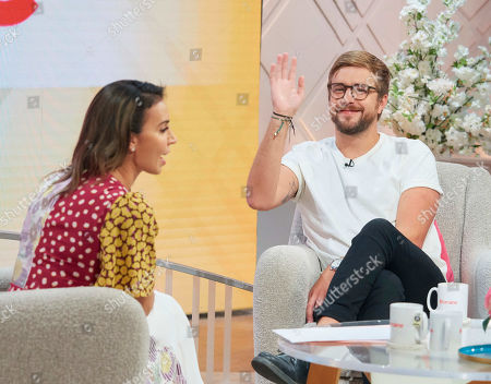 Christine Lampard and Iain Stirling