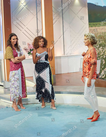 Editorial photo of 'Lorraine' TV show, London, UK - 02 Aug 2019