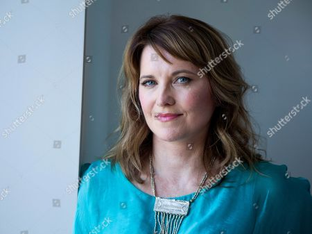 Editorial photo of Lucy Lawless Portrait Session, New York, USA - 22 Jul 2019