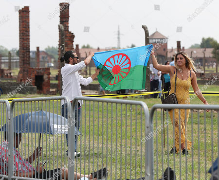 Editorial picture of Roma Genocide, Oswiecim, Poland - 02 Aug 2019