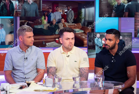 Editorial picture of 'Good Morning Britain' TV show, London, UK - 02 Aug 2019