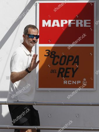 Spanish Royals attend Copa del Rey Mapfre Sailing Cup, Palma