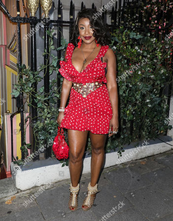 Editorial picture of Mabel album launch party, Annabel's, London, UK - 01 Aug 2019