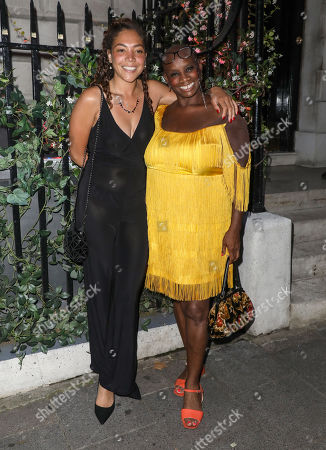 Stock Photo of Miquita Oliver and Andi Oliver