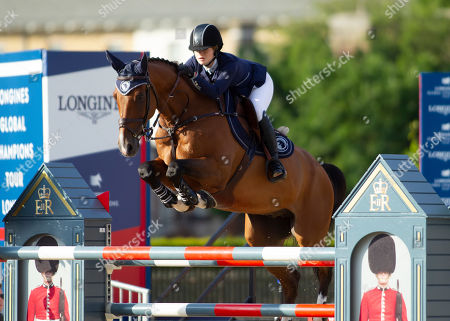 Jennifer Gates (USA) riding Monaco for Team Paris Panthers during the Global Champions League Phase One