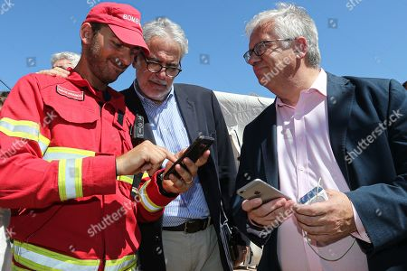 Editorial picture of European Commissioner for Humanitarian Aid and Crisis Management Christos Stylianides visit Portugal, Portimo - 02 Aug 2019