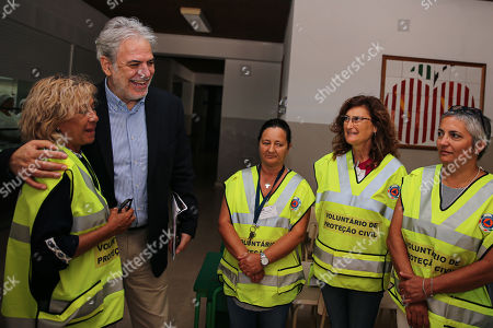 Editorial photo of European Commissioner for Humanitarian Aid and Crisis Management Christos Stylianides visit Portugal, Portimo - 02 Aug 2019