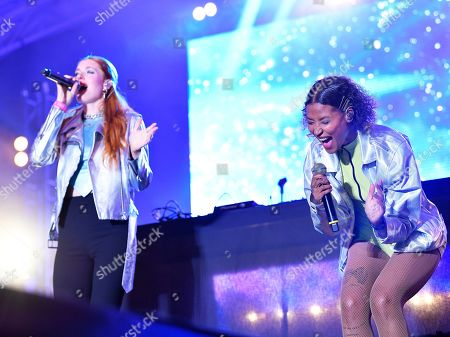 Icona Pop - Caroline Hjelt and Aino Jawo