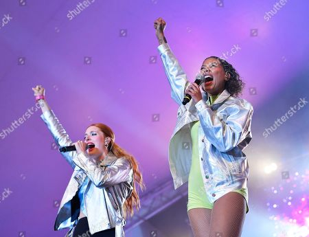 Stock Picture of Icona Pop - Caroline Hjelt and Aino Jawo